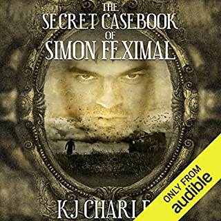 The Secret Casebook of Simon Feximal audiobook cover art