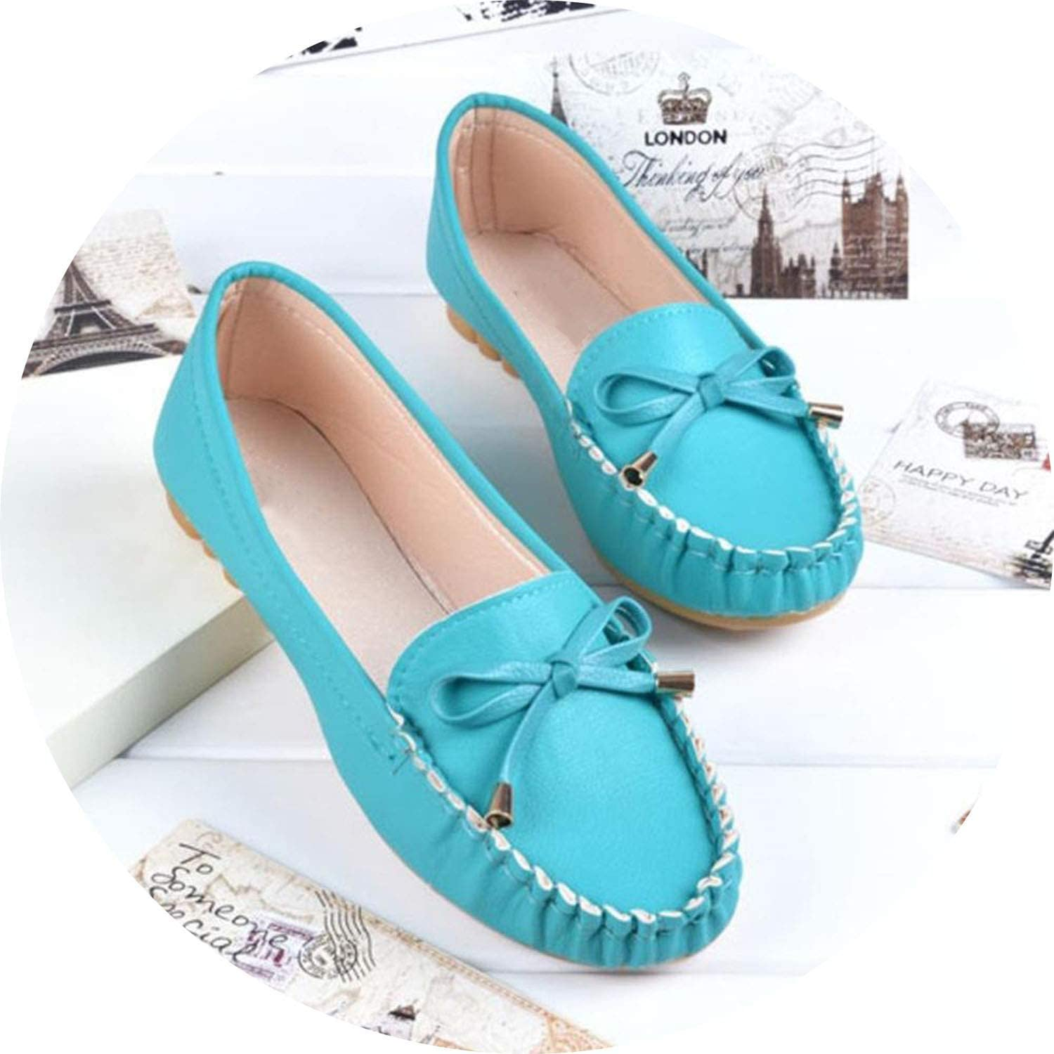 Ting room 4colors Women Loafers Fashion Slip on shoes Pu Leather Flats Bow Boat shoes Woman Fringed Flat shoes