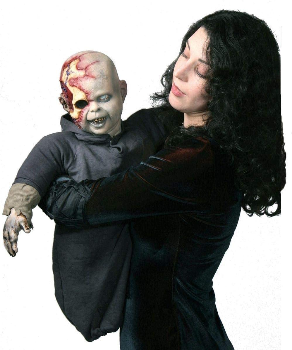 Costumes For All Occasions Max 47% OFF Ta309 San Diego Mall Zack Zombie Latex Puppet