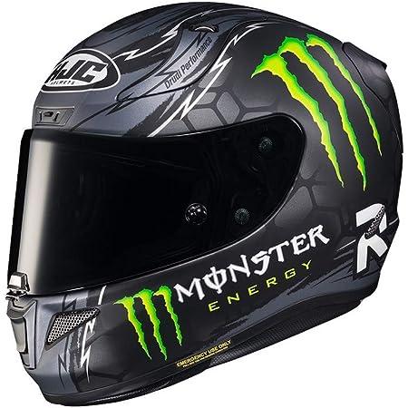 Small Black//Grey Crutchlow Silverstone HJC RPHA 11 Pro Helmet