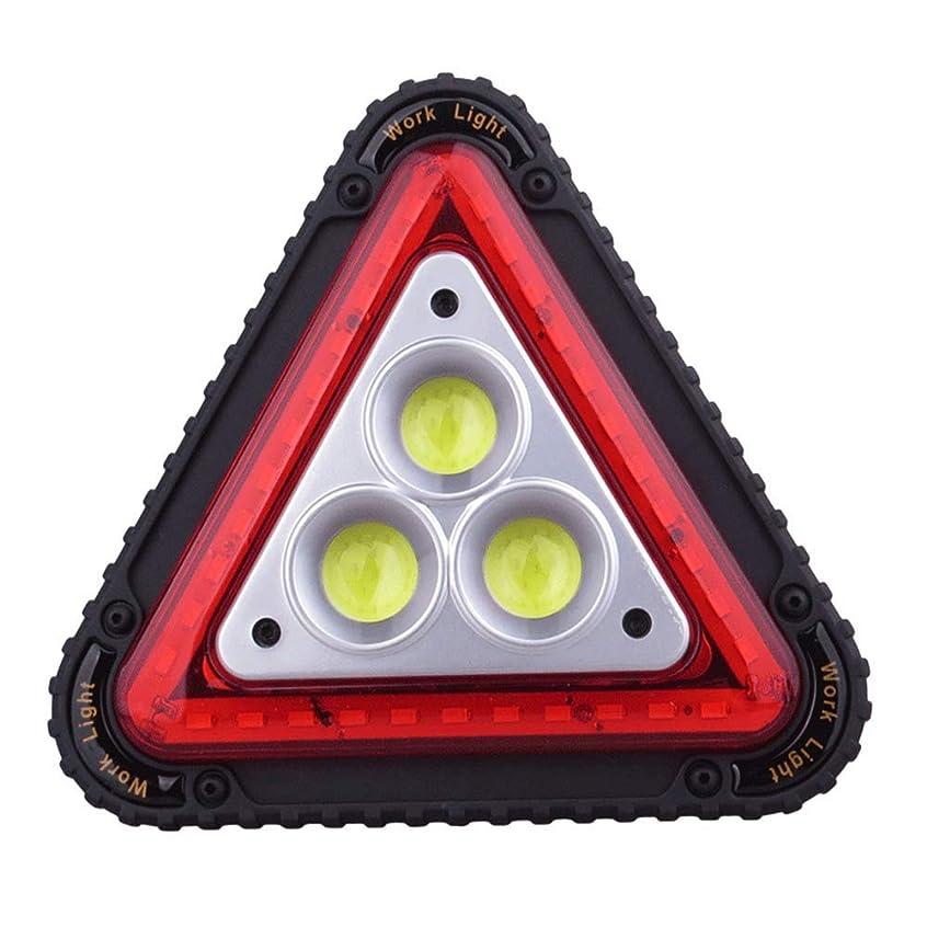 道に迷いました切り離すポールLED懐中ライト LEDライト 赤い点灯 超高輝度 COB 4段階 LED 懐中電灯 最強 USB ランタン 4モード 登山 キャンプ 夜釣り 防災 軍用