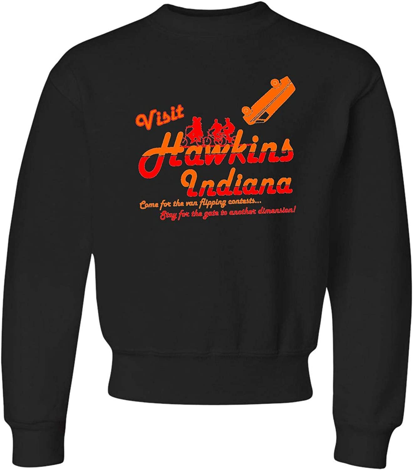 Go All Out Youth Visit Indiana Crewneck Sales of SALE items from new works 5 popular Funny Hawkins Sweatshirt
