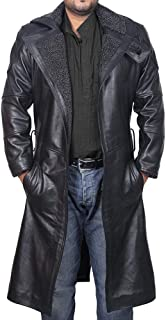 The Signatures Ryan Gosling Blade Runner 2049 Faux Shearling Trench Coat with Artificial Fur