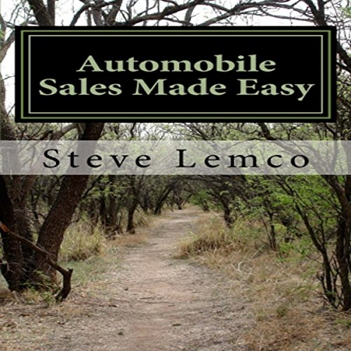 Automobile Sales Made Easy audiobook cover art