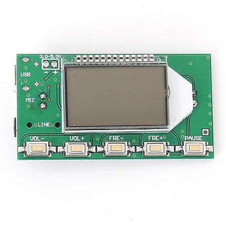 Audio Verstärker Modul Dsp Pll 87 108 Mhz Digitales Elektronik