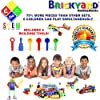 Brickyard Building Blocks STEM Toys & Activities - Educational Building Toys for Kids Ages 4-8 w/ 163 Pieces, Kid-Friendly Tools, Design Guide and Toy Storage Box #2