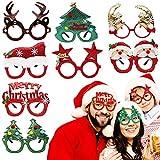 BELLE VOUS Lunettes de Noel (8 Pièces) - Lunettes Deguisement de Noël - Décoration de...