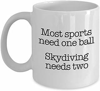 مج سكايدينج، كوب قهوة مضحك لسكاي السائقين كوب القهوة