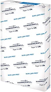 Hammermill 20lb Copy Paper, 8.5 x 14, 1 Ream, 500 Sheets, Made in USA, Sustainably Sourced From American Family Tree Farms...