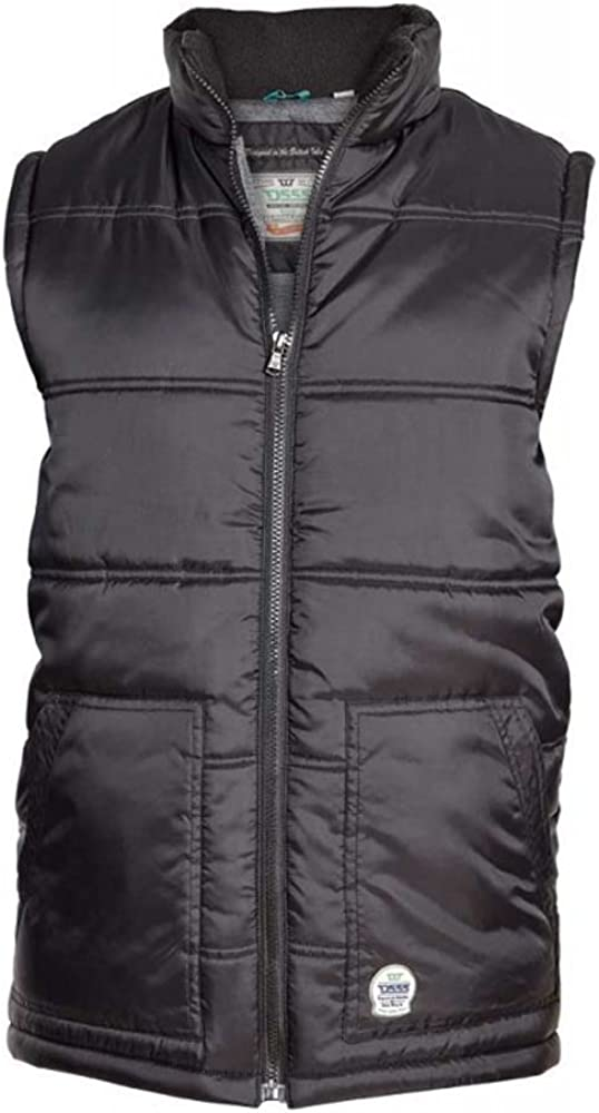 Duke D555 Big and Tall Heavy Padded Puffer Vest with Oversized Pockets