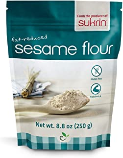 Sukrin Flour - Natural Low Carb Flour Substitute For Healthy Cooking and Baking (Sesame Flour)