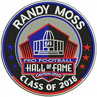Football Randy Moss 2018 PRO Hall of Fame Patch VIKINGSPRE-Order Item - Shipping Begins ON October 5TH