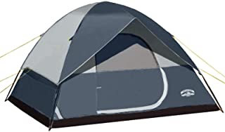 Pacific Pass 6 Person Family Dome Tent with Removable...