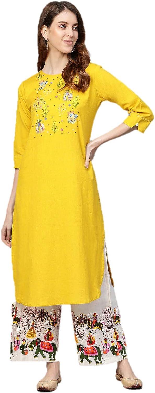 kurtis set 人気の定番 for women Indian Tunic 年末年始大決算 kurta or Tops wit Rayon Cotton