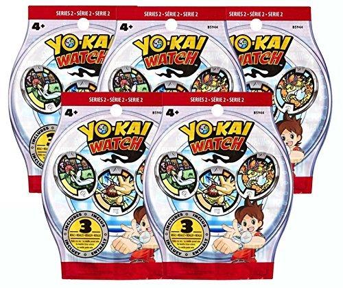 Yokai watch - Lot de 5 sachets mystères Yo-kai watch série 2 - Set of 5 Bling bag séries 2 Yokai watch - by channeltoys