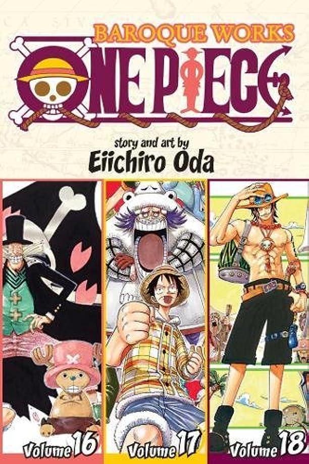 うなる予想する血One Piece: Baroque Works 16-17-18, Vol. 6 (Omnibus Edition) (6) (One Piece (Omnibus Edition))