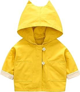 famuka Infant Baby Girls Spring Autumn Hooded Coat Baby Jackets Cardigan