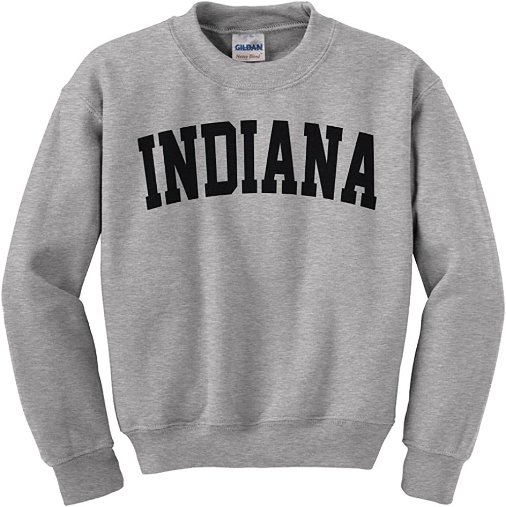 Indiana College Style Sweatshirt Max 71% OFF Kids Latest item Youth