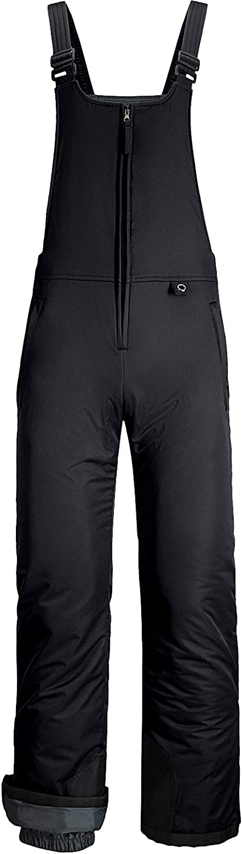 GEMYSE Womens Insulated Waterproof Ski Bib Overalls Winter Snowboarding Pants