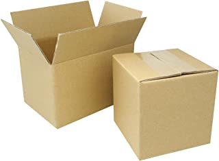100 EcoSwift 10x6x4 Corrugated Cardboard Packing Boxes Mailing Moving Shipping Box Cartons 10 x 6 x 4 inches