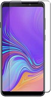 واقي شاشة زجاجي شفاف شفاف ومقوى لهاتف Galaxy A9 2018 (A9 Star Pro، A9s) 6.3 بوصة 2.5D لهاتف Galaxy A9 2018