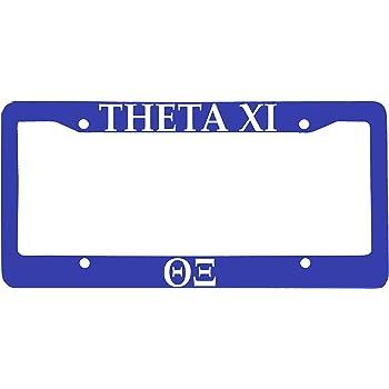 Blue Officially Licensed Phi Delta Theta License Plate Frame