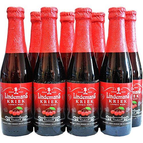 8 Flaschen Lindemans Kriek a 250ml 3.5% Vol. mit Sauerkirschsaft inc. 0.48€ MEHRWEG Pfand