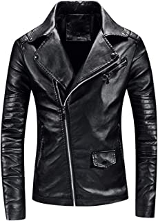 Benficial 2019 New Coats for Men Winter Autumn Solid Color Jacket Zipper Long Sleeve Coats Tops Blouses