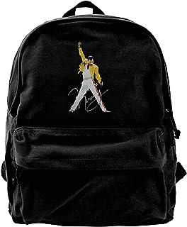 Mochila de lona Freddie Mercury para gimnasio, senderismo, portátil, bolsa de hombro para hombres y mujeres