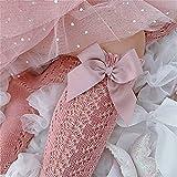 5 pares 0-5 años de verano calcetines de bebé con los niños pequeños chicas largo calcetín de la rodilla alto algodón suave hueco fuera de los niños calcetines de malla niña princesa calcetín 909