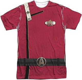 Star Trek Men's Admiral Kirk Uniform Sublimation T-Shirt White