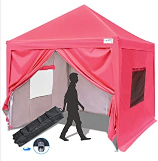 Best 10x10 pink canopy with sides Reviews