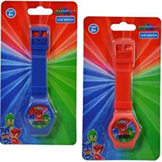 PJ Masks Digital Watch on Blister Card 2 Colors Asstd