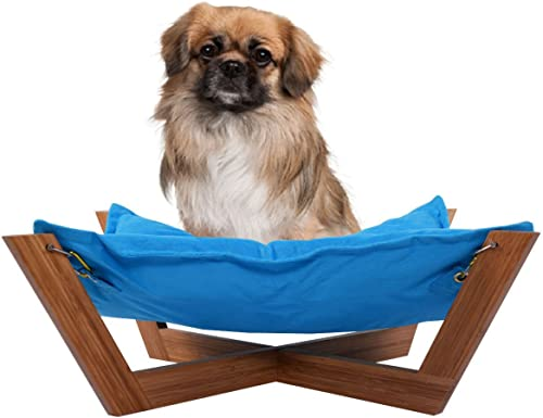 new arrival Giantex sale Pet Hammock sale Bed Dog Nap Mat Cat Sleeping Pad Cushion Bamboo Lounge Small online sale
