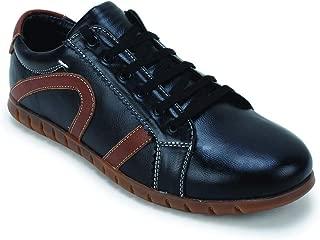 SCENTRA Men's Black Sneakers