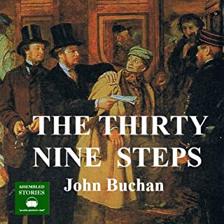 The Thirty Nine Steps audiobook cover art