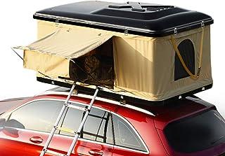 サンパーシー はしご付き 車上泊 ルーフテント 車上テント カールーフテント キャンピング (ブラウン) [並行輸入品]