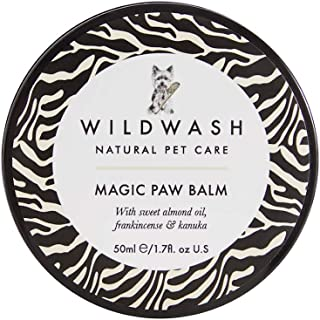 WildWash PRO Magic Paw Balm for Dogs & Puppies – Made in UK Natural Skin and Coat Care for Pets