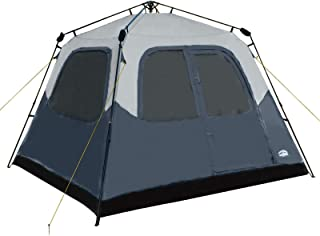 Pacific Pass Camping Tent 6 Person Instant Cabin Family Tent, Easy Set Up for Camp Backpacking Hiking Outdoor, Navy, 120.1...