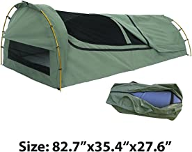 Strong Camel Anti-tearing venting Canvas Marquee Gazebo Swag Tent/ aluminium Alloy Poles + carry bag