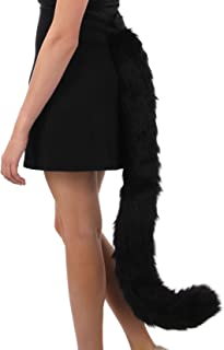 Elope Kitty Cat Costume Tail Black for Adults and Women