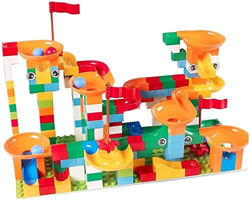 ventas de salida HXGL-juguete de coche Bloques De Construcción Construcción Construcción De Juguetes para Niños De La Pista Montaje De Rompecabezas Regalos Plástico (Tamaño   222 Pieces)  marca famosa
