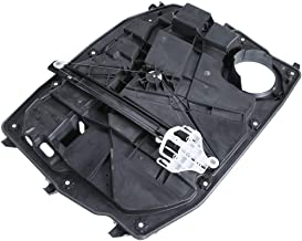 A-Premium Power Window Regulator with Motor and Panel for Jeep Liberty 2008-2012(6 Pin Connector) Front Right Passenger Side
