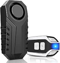 Onvian Wireless Anti-Theft Motorcycle Bike Alarm with Remote, Waterproof Bicycle Security Alarm Vibration Sensor, 113dB Loud