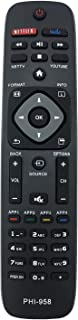 Best MYHGRC Replacement Philips TV Remote Control PHI-958 / NH500UP for Philips Smart TV 22PFL4907/F7 26PFL4907/F7 32PFL4907 55PFL5601F7-No Settingup Required Universal Philips TV Remote Review