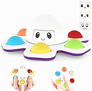 Pop Fidget Spinner Toys, Fidget Toys,Face-Changing Toy Relief Anti-Anxiety Keyboard Stress Relief Sensory Toy for Kids Adu...