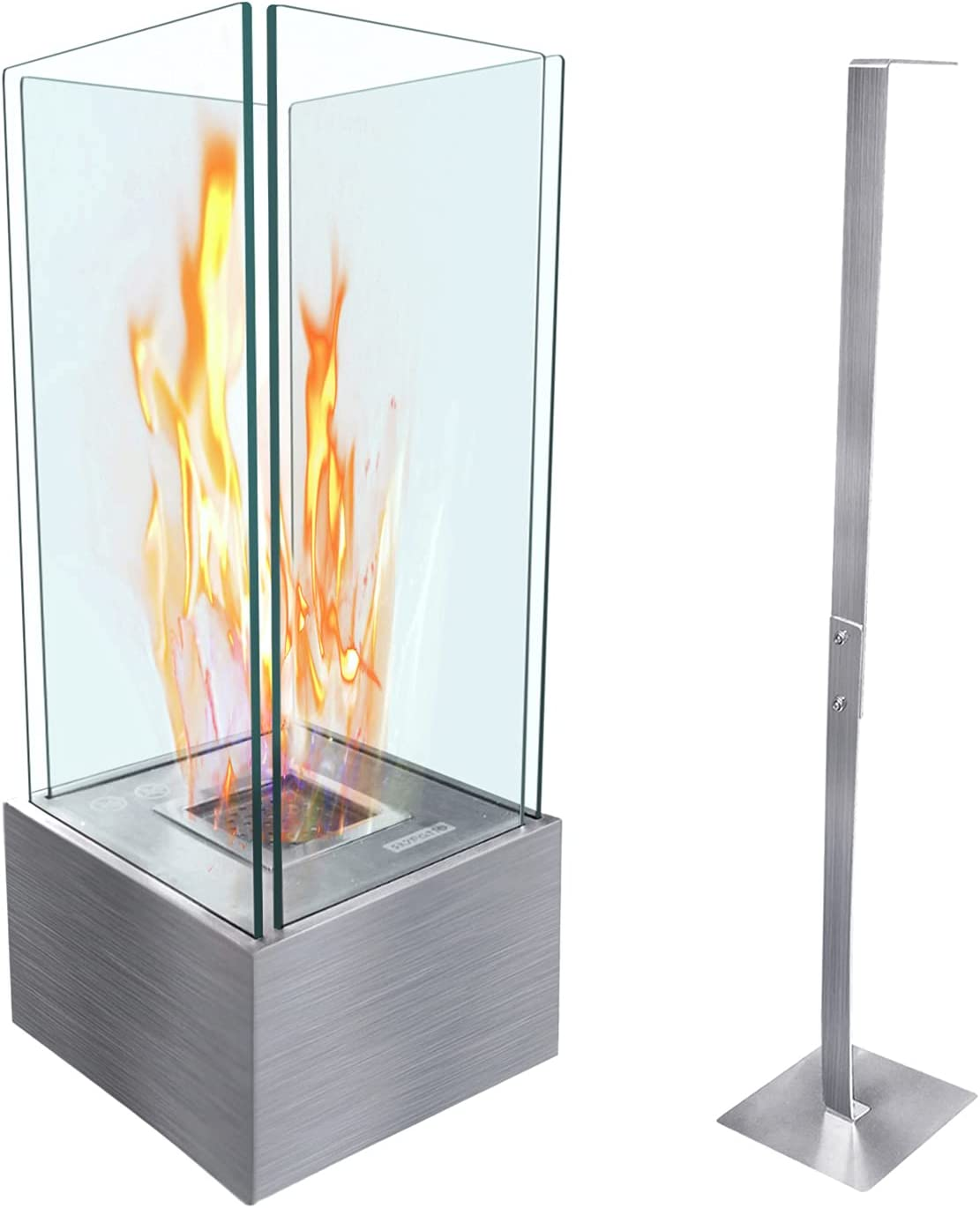 Cheap mail order specialty shop store ATR ART TO REAL Bio Freestanding Ethanol Ventless Fireplace
