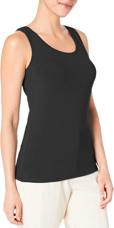 MONYRAY Women's Comfy Built-in Bra Cami Tank Top Camisoles Shelf Bra Stretch Undershirt