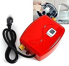 3800 W doorstroomboiler, mini elektrische tank-warmwatermaker voor thuis, badkamer, keuken, wassen, 35-45 °C, IPX4 waterdi...
