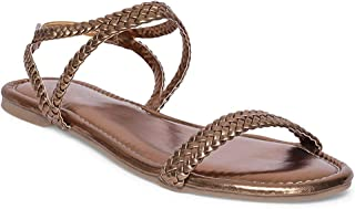 Monrow Alicia Women's Bronze Ethylene-Vinyl Acetate Convertible Flats -UK/IND 5